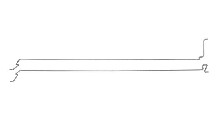 Boot Lid Hinge Torsion Rods Coupe 67-68
