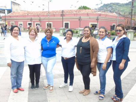 Comité de Genero visitó mercados capitalinos