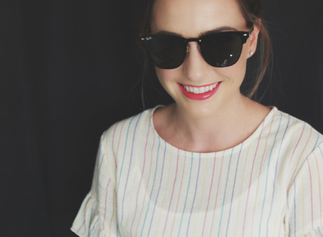 Cali Summer Babe: Easy to wear end of summer glam!