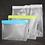 Thumbnail: Bagito Reusable Zip-Em Kitchen Storage Bags Sets of 3