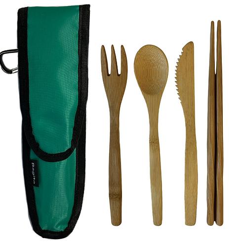 BagitoWare - Bamboo Cutlery Sets