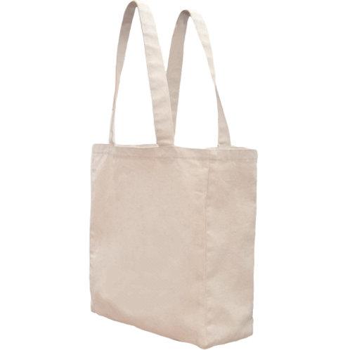 Bagito Tote Organic Cotton Reusable Shopping Bag - Natural