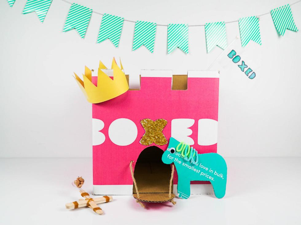 Boxed Castle Kit