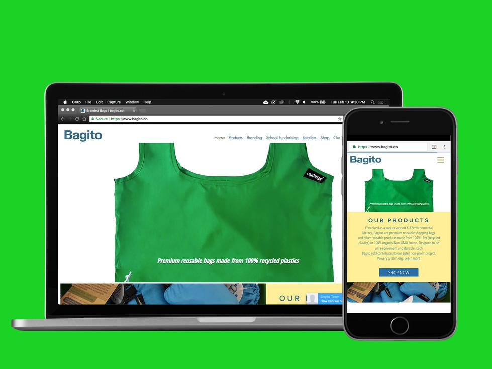 Website Design for Bagito