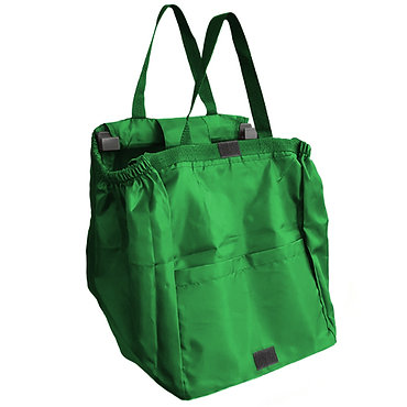 Bagito Hang Bags - A reusable shopping bag that hangs from grocery cart