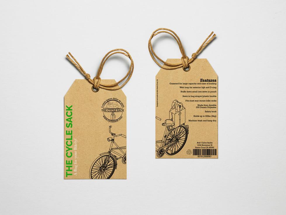 Hang Tag Design for Cylcle Sack V2