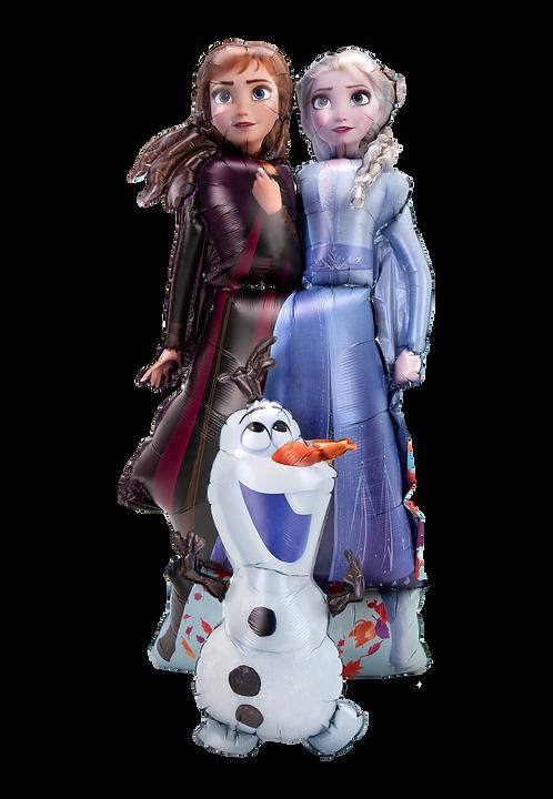 Elsa, Anna und Olaf aus Frozen   Anagram Airwalker