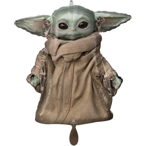 Baby Yoda aus The Mandalorian | Anagram XL | Mit oder ohne Helium