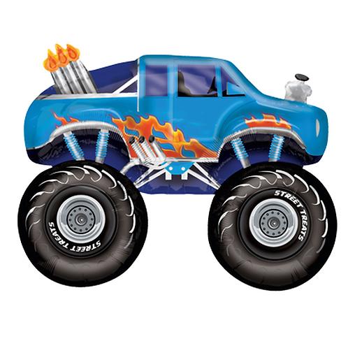 Monster Truck | Anagram Street Treats | Mit oder ohne Helium