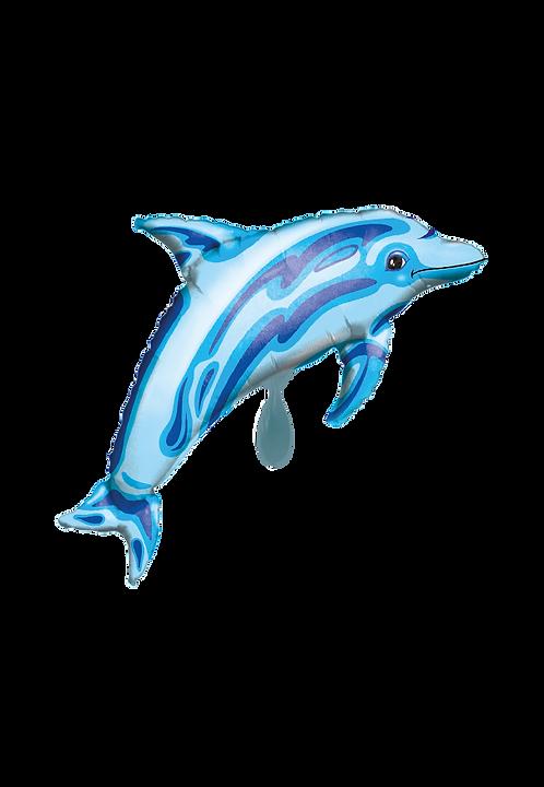 Blauer Delfin   Anagram XL   Mit oder ohne Helium