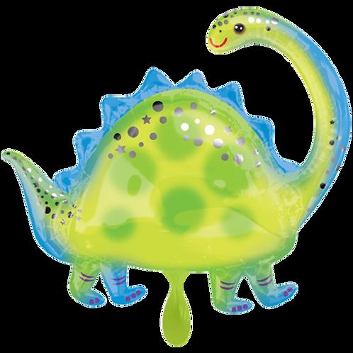 Dinosaurier Brontosaurier   Anagram XL   Mit oder ohne Helium