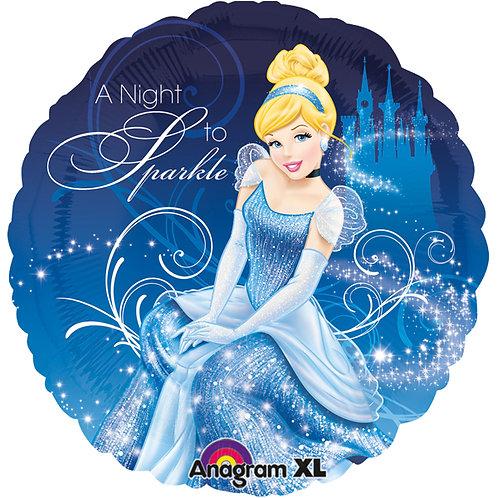Disney Cinderella   Anagram Rund   Mit oder ohne Helium