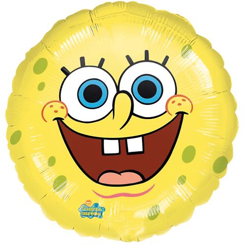 Spongebob Schwammkopf | Anagram Rund | Mit oder ohne Helium