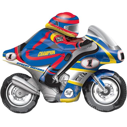 Motorradfahrer | Anagram Street Treats | Mit oder ohne Helium