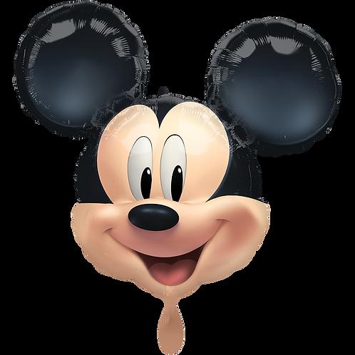 Micky Maus Kopf | Anagram XL | Mit oder ohne Helium