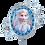 Thumbnail: Elsa und Anna Portrait | Anagram XL | Mit oder ohne Helium