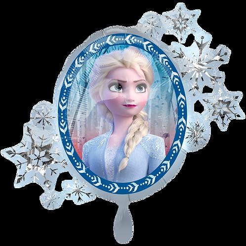 Elsa und Anna Portrait | Anagram XL | Mit oder ohne Helium