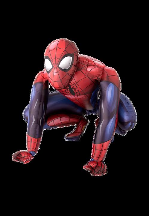 Spiderman | Anagram Airwalker | Mit oder ohne Helium