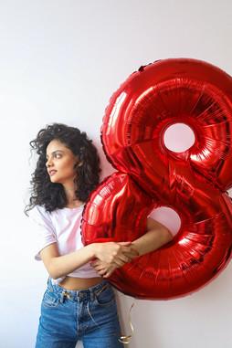 Zahlen Ballons
