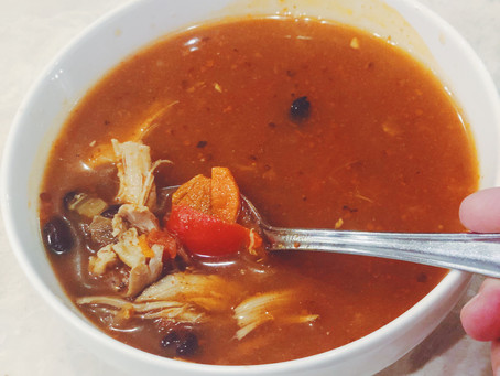 Soup Your Family Will Eat - Chicken Tortilla Soup
