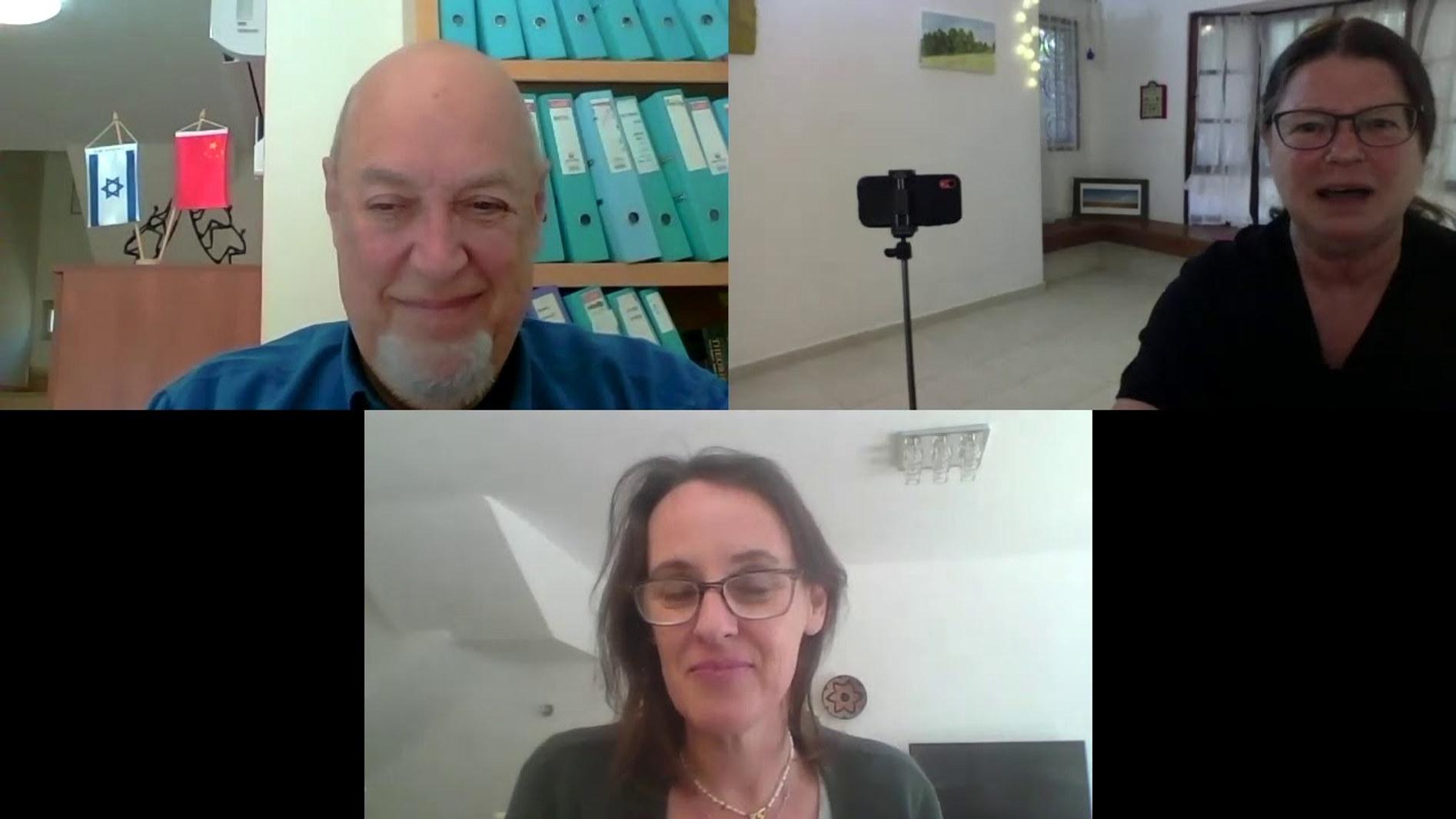 ראיון  לכבוד חנוכת מועדון הגיל החדש עם פרופ' יעקב גינדין, מומחה בגריאטריה ורפואה פנימית