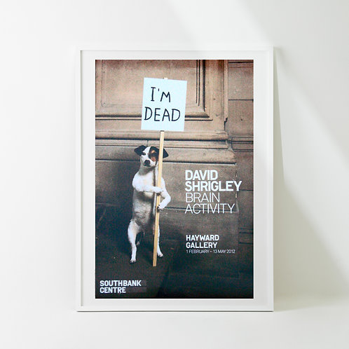 a-18s | Art Poster / David Shrigle