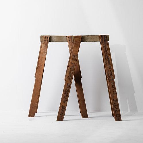 o-1v | Antique Wood Saw Horse