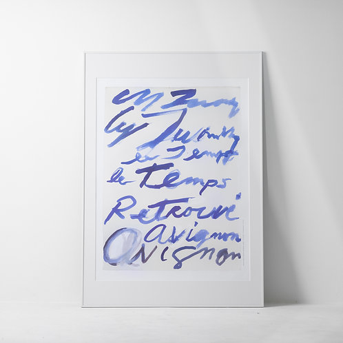 a-12s | Art Poster / Cy Twombly