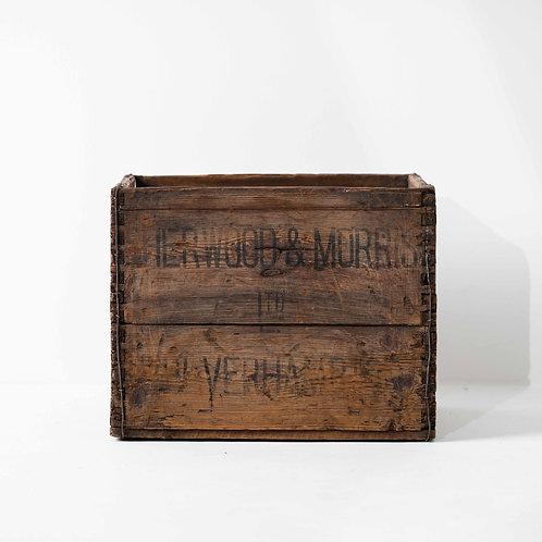 o-19v | Antique Wood Box