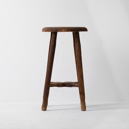 c-4v | Antique Wood Stool