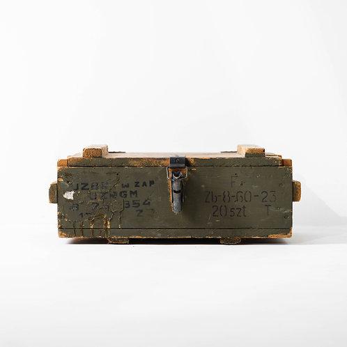 o-22v   Military Storage Box Tool Handles Metal Clip Lock