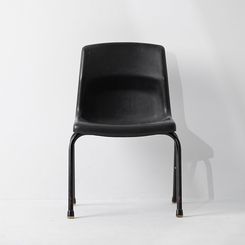 c-36v | PP Kids Chair Vintage Black