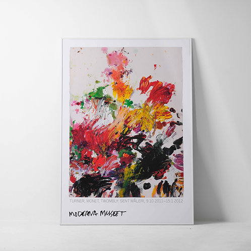 a-9s | Art Poster / Cy Twombly