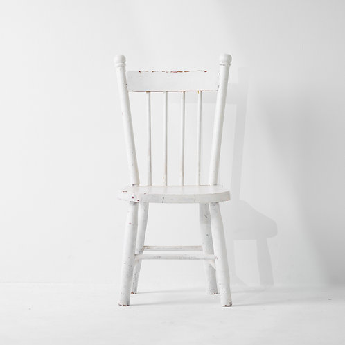 c-29v | Antique Kids Chair White