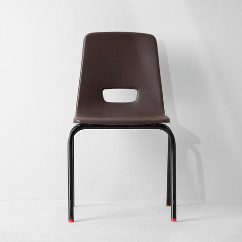 c-35v   PP Kids Chair Vintage Brown
