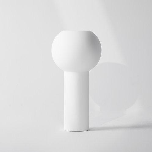 f-3s   Flower Base Pillar Vase White / Cooee Design