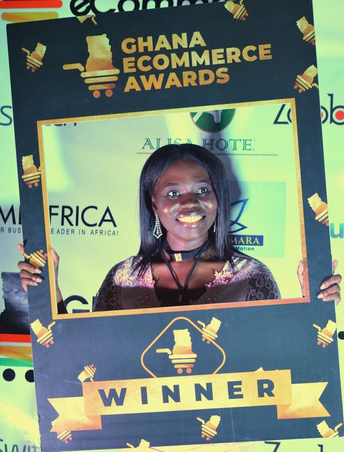 Esther Asante, Ghana eCommerce Awards 2018, Winner