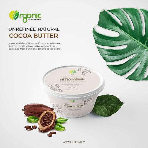 OTI Organic Natural Cocoa Butter (Cosmetic & Food Grade)