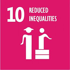 SDG reduced inequalities sign
