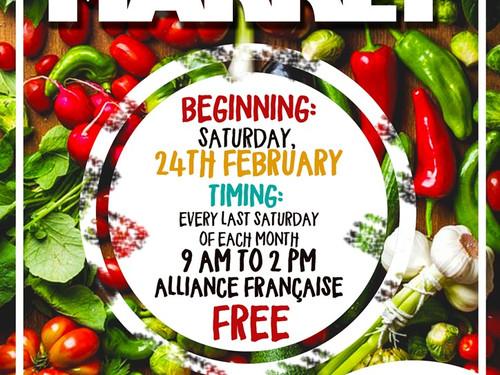 OTI Saturday Organic Market Will be Back!