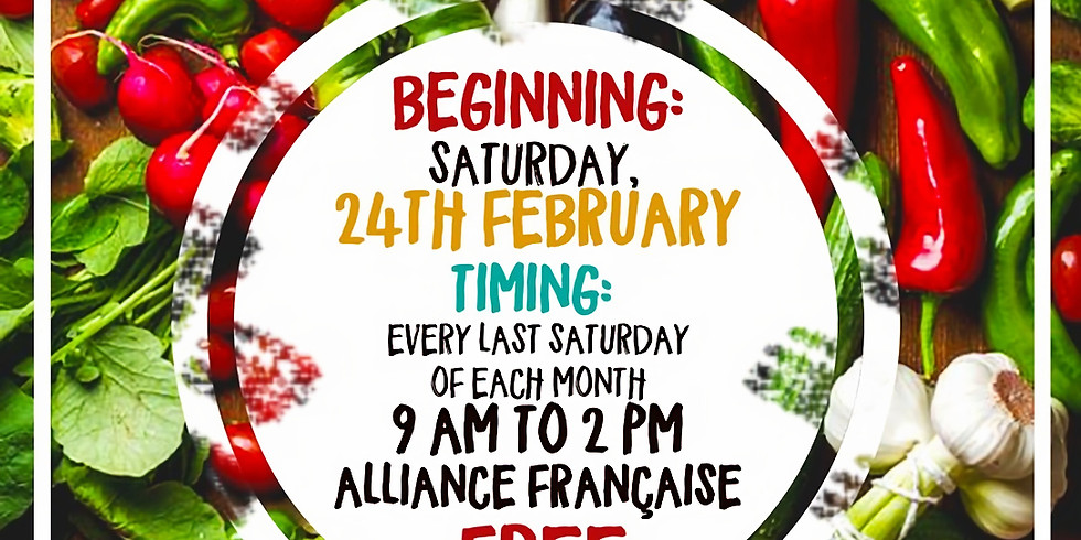 Organic Market this Saturday at Alliance Francaise, Accra