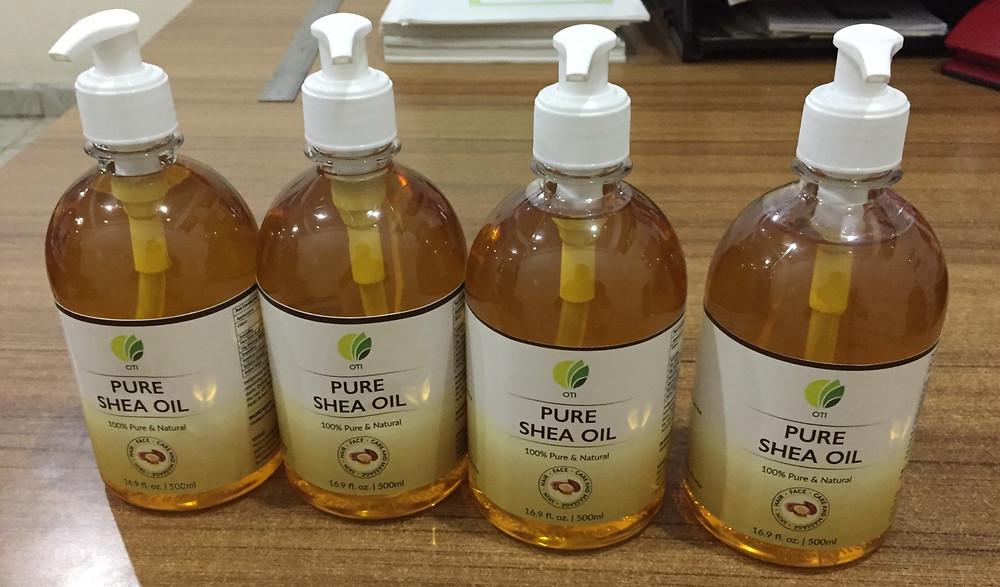 OTI Organic Shea Nut Oil