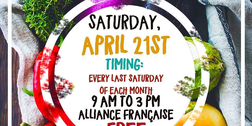 Saturday Open Organic Market - Third Edition