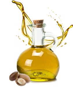 Certified organic pure argan oil from Morocco.