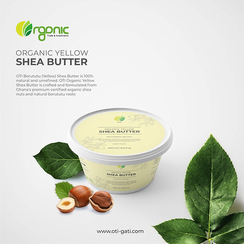 OTI Burututu Root (Yellow) Raw Shea Butter