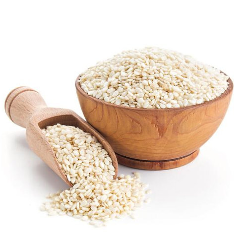 Natural White Sesame Seeds (25kg)