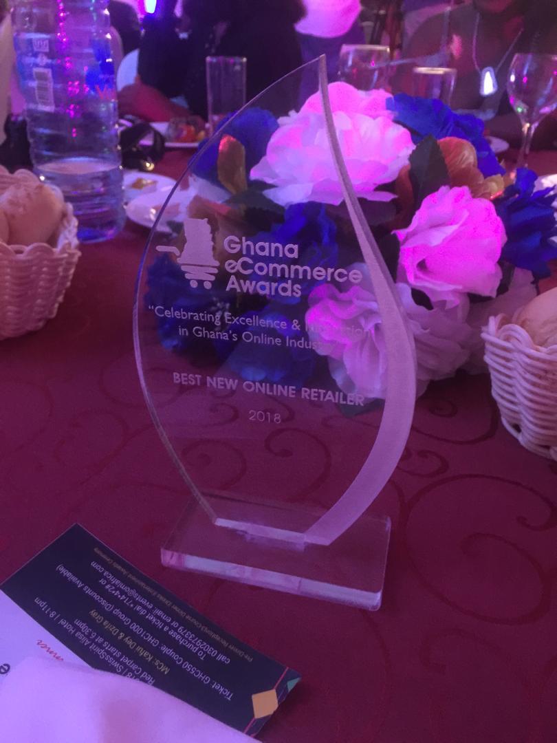 OTI awarded the Best New eCommerce Awards, Ghana