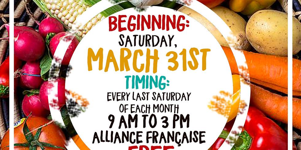 Saturday Open Organic Market -- Second Edition