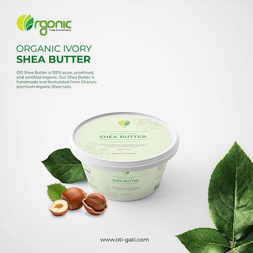 OTI Organic Ivory Unrefined Shea Butter