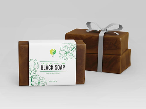 OTI African Black Soap from Ghana (100% Natural)